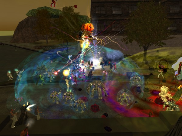 Eochai, king of the Fir Bolg during the 2010 Halloween Event
